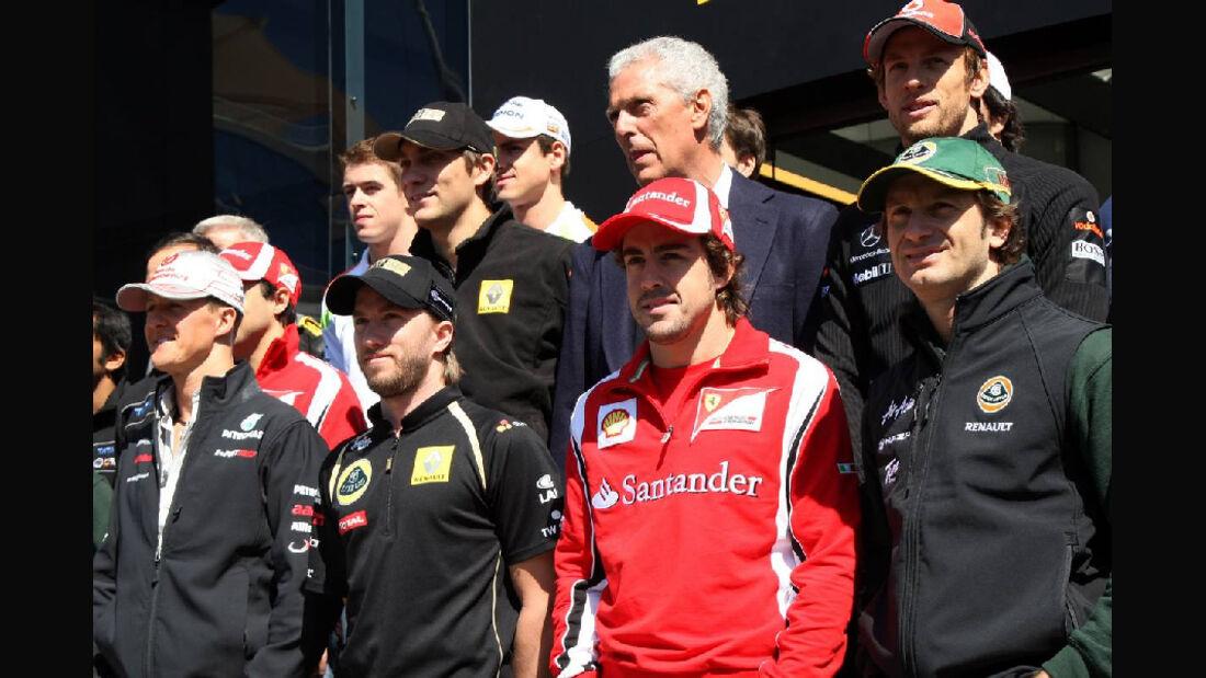 Formel 1 Fahrer GP Türkei 2011