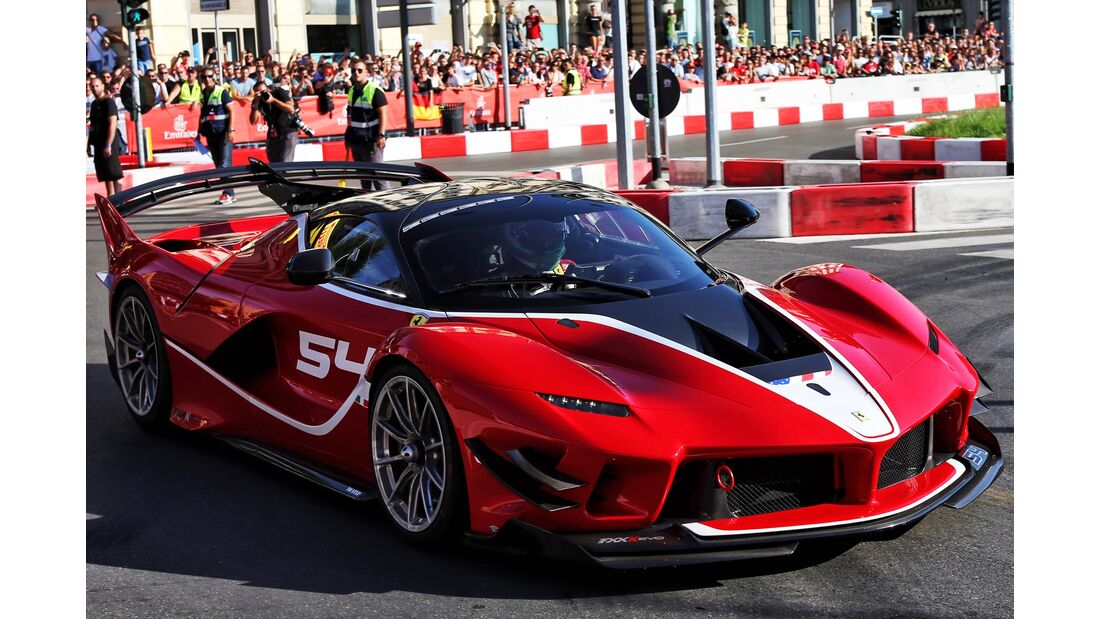 Formel 1 Festival Mailand - Formel 1 - GP Italien - 30. August 2018