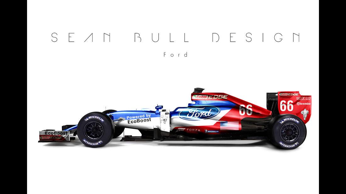 Formel 1 - Ford - Fantasie-Teams - Sean Bull Design