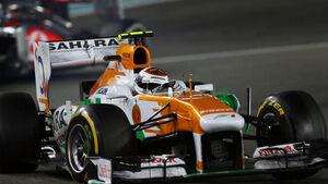 Formel 1 GP Abu Dhabi 2013 Adrian Sutil