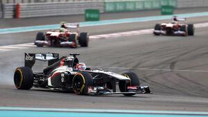 Formel 1 GP Abu Dhabi 2013 Nico Hülkenberg