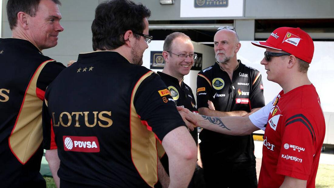 Formel 1 GP Australien 2014 Kimi Räikkönen