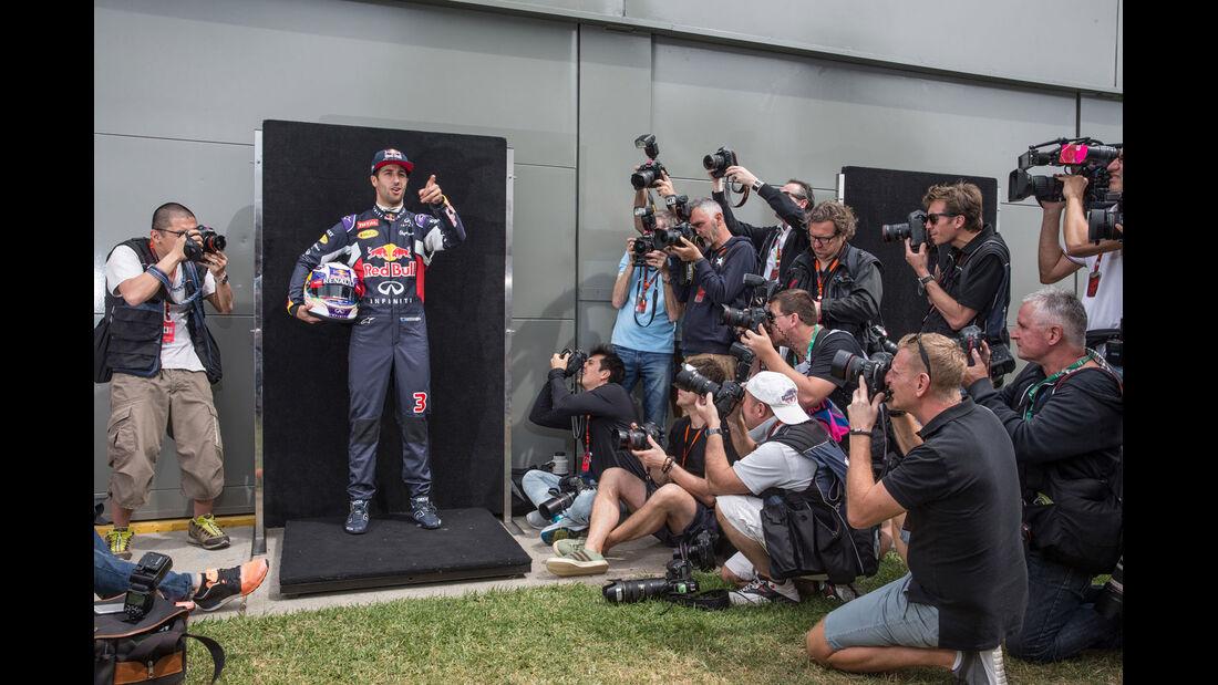 Formel 1 - GP Australien 2015 - Bilderkiste - F1 - Red Bull - Daniel Ricciardo