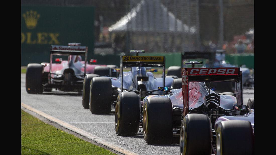 Formel 1 - GP Australien 2015 - Bilderkiste - F1 - Start