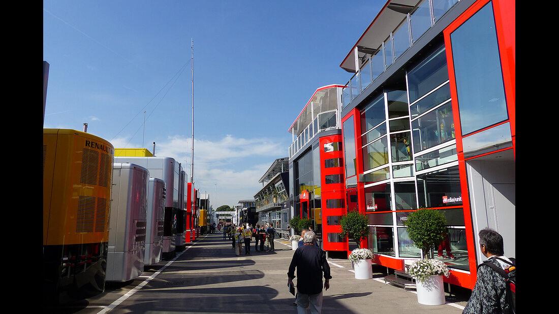 Formel 1 - GP Barcelona 2014 - F1 Paddock