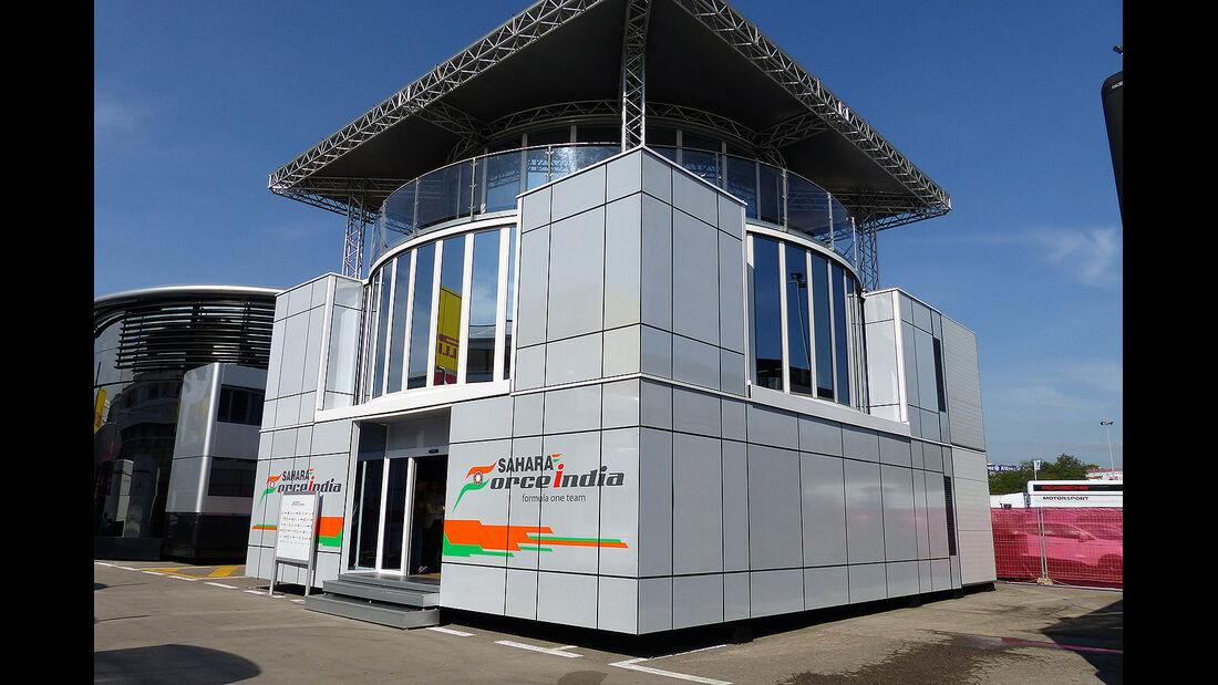 Formel 1 - GP Barcelona 2014 - Motorhomes - Force India