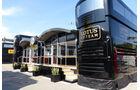 Formel 1 - GP Barcelona 2014 - Motorhomes - Lotus