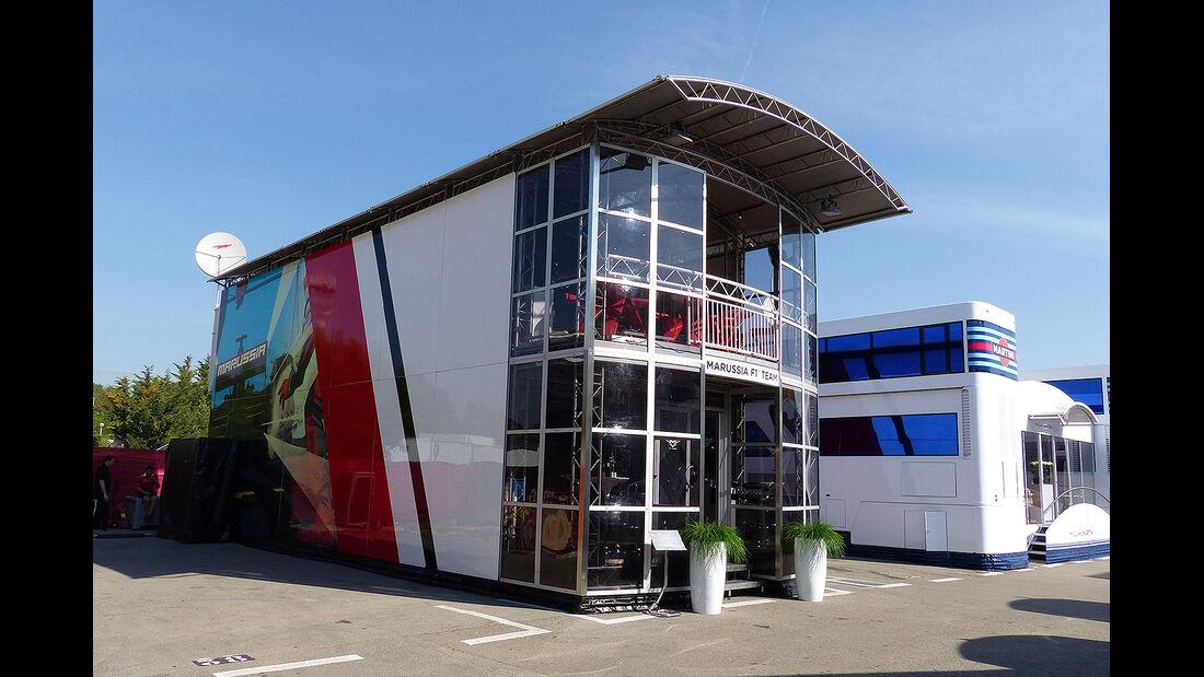 Formel 1 - GP Barcelona 2014 - Motorhomes - Marussia