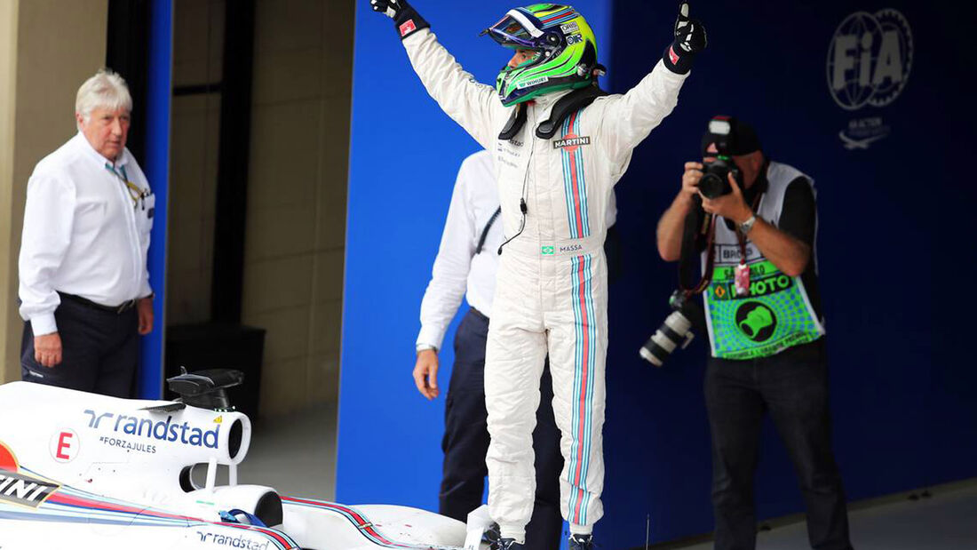 Formel 1 - GP Brasilien 2014 - Felipe Massa - Williams