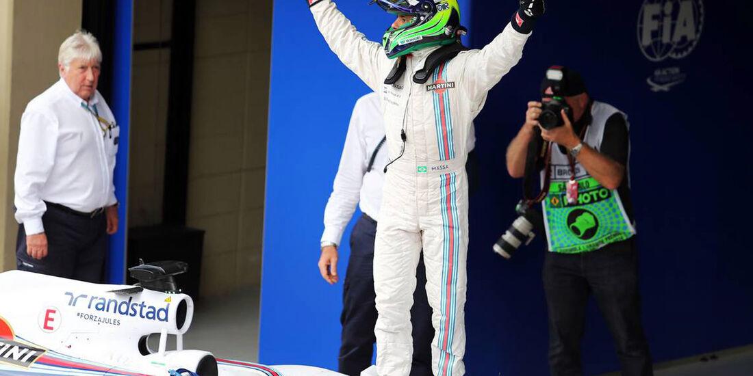 Formel 1 - GP Brasilien 2014 - Felipe Massa - Williams