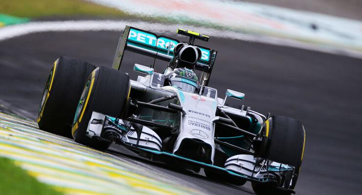 Formel 1 - GP Brasilien - Nico Rosberg - 2014