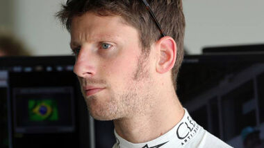 Formel 1 - GP Brasilien - Romain Grosjean - 7. November 2014