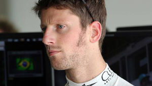 Formel 1 - GP Brasilien - Romain Grosjean - 7. November 2014