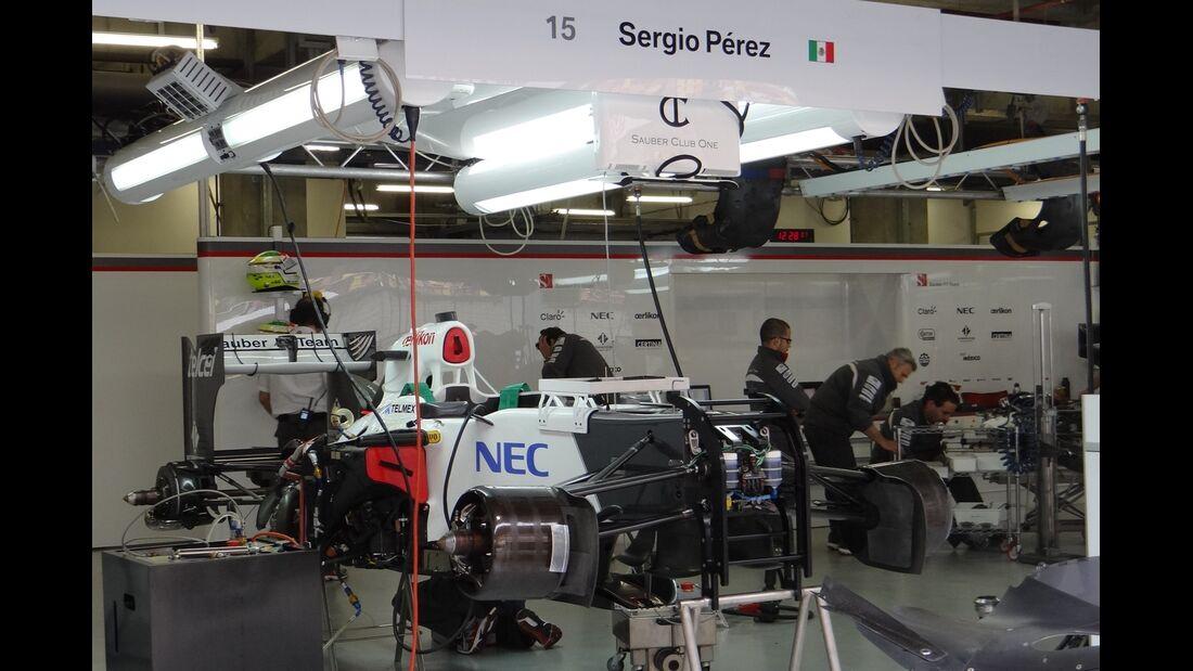 Formel 1 - GP China - 13. April 2012