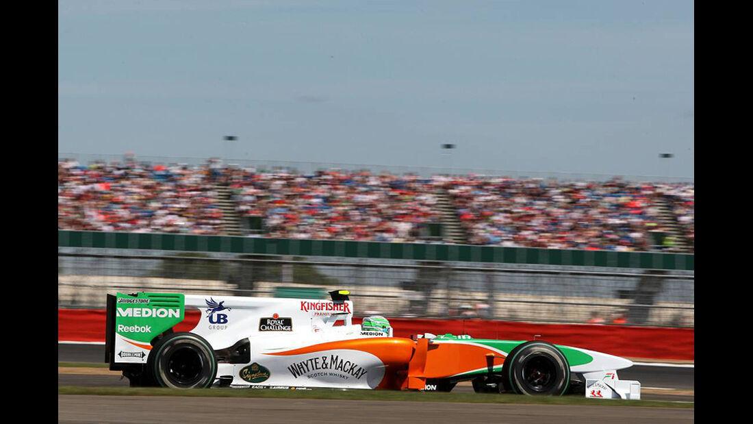 Formel 1 GP England 2010 Freitag