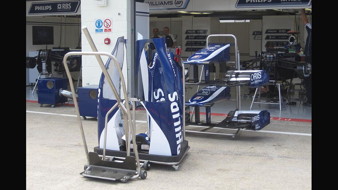 Formel 1 GP England 2010 Technikanalyse