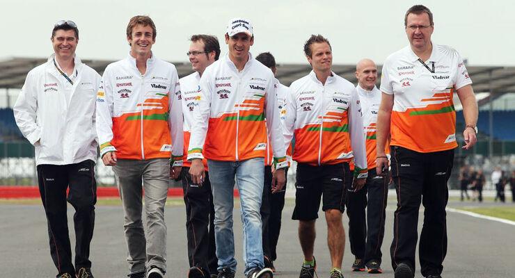 Formel 1 GP England 2013 Adrian Sutil