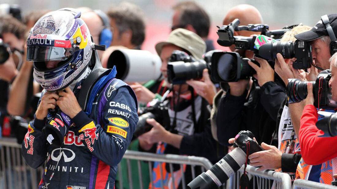 Formel 1 GP England 2013 Sebastian Vettel