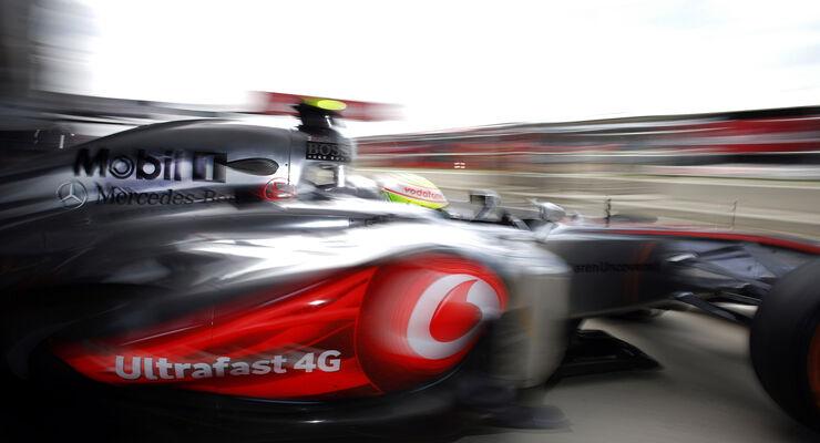 Formel 1 GP England 2013 Sergio Perez