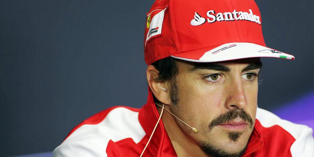 Formel 1 GP England Fernando Alonso 2013