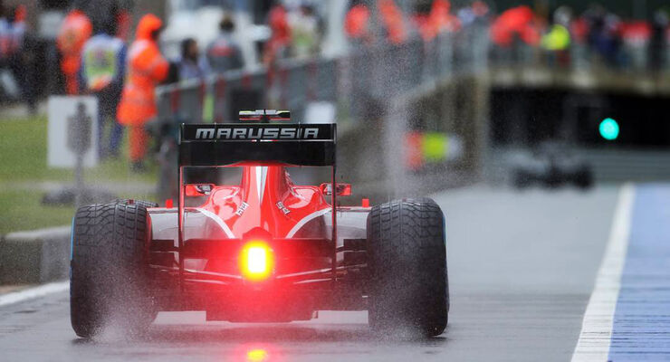 Formel 1 GP England Max Chilton 2013