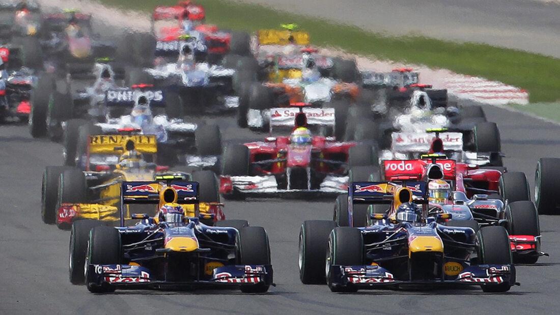 Formel 1 GP England Start