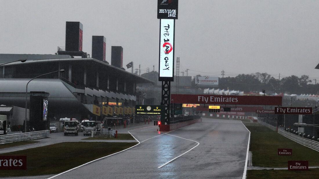 Formel 1 - GP Japan - Regen - 2017