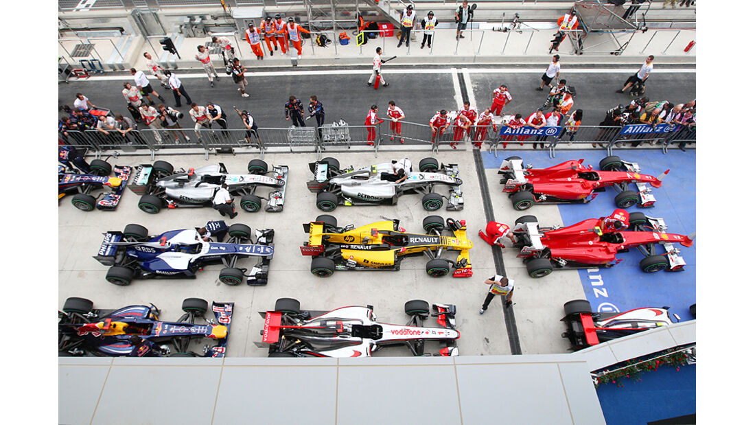 Formel 1 GP Korea 2010