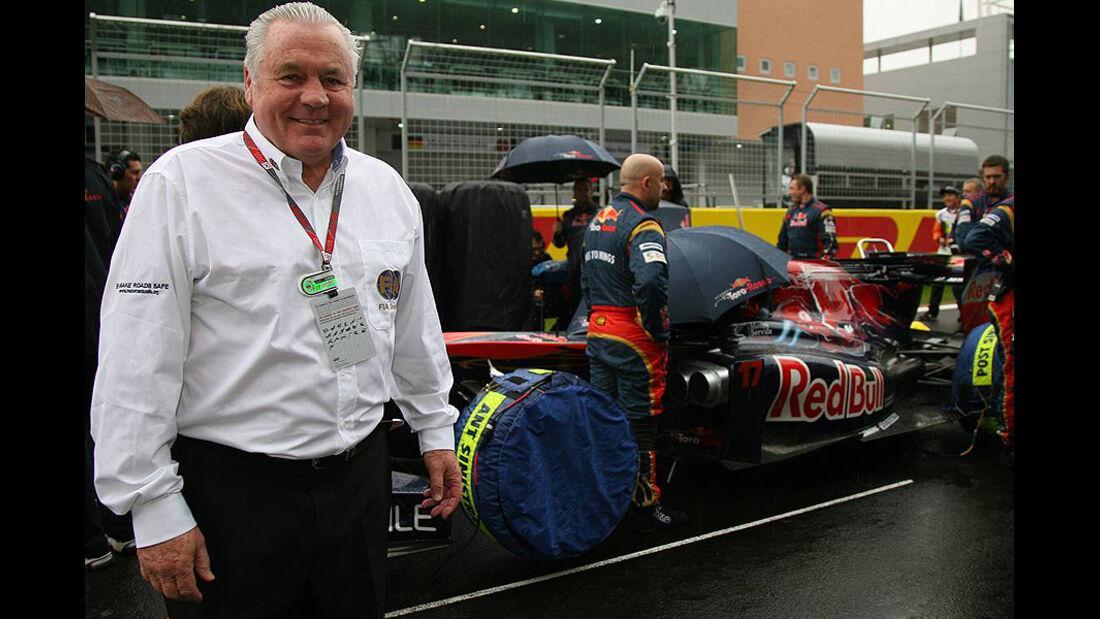Formel 1 GP Korea 2010 Alan Jones