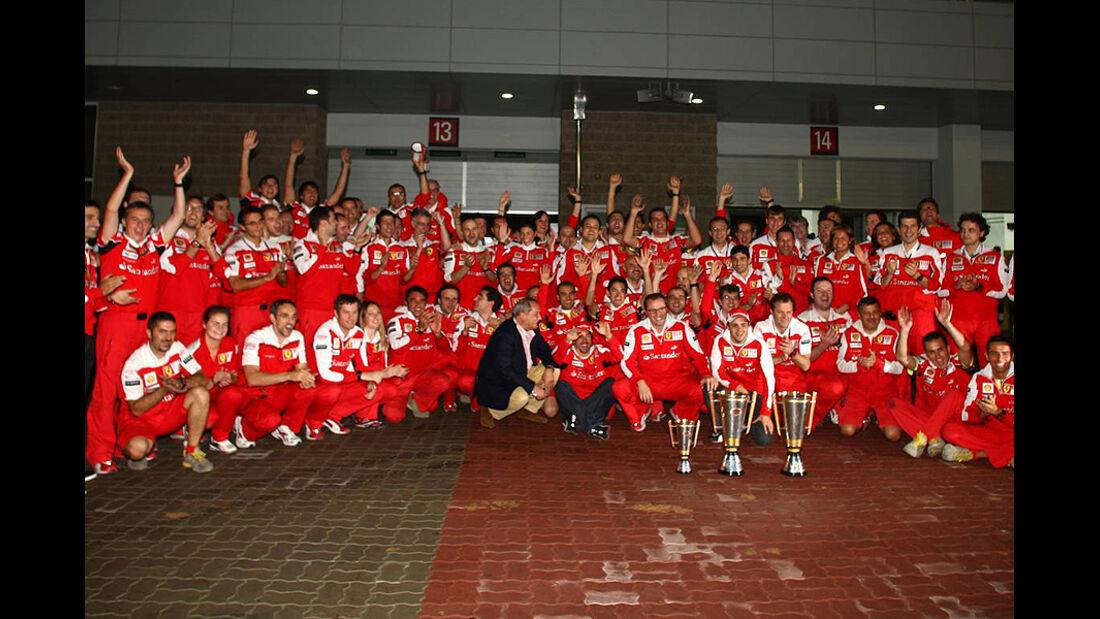 Formel 1 GP Korea 2010 Ferrari Party