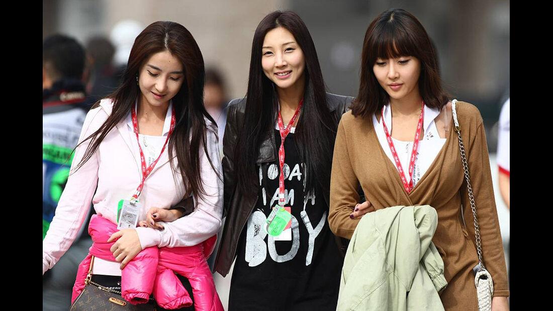 Formel 1 GP Korea 2010 Girls
