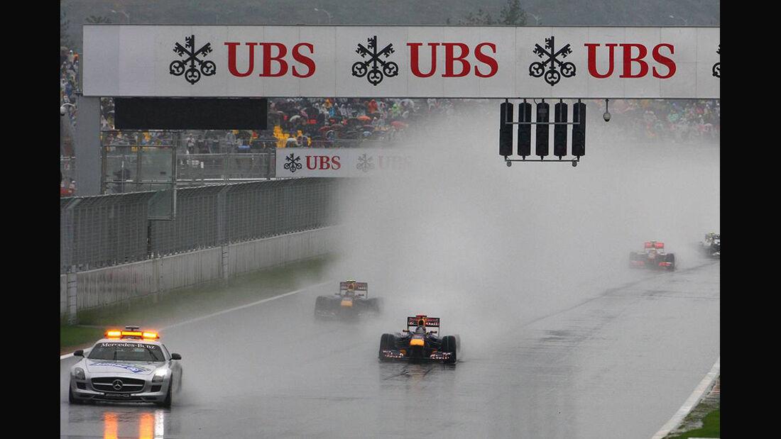 Formel 1 GP Korea 2010 Gischt