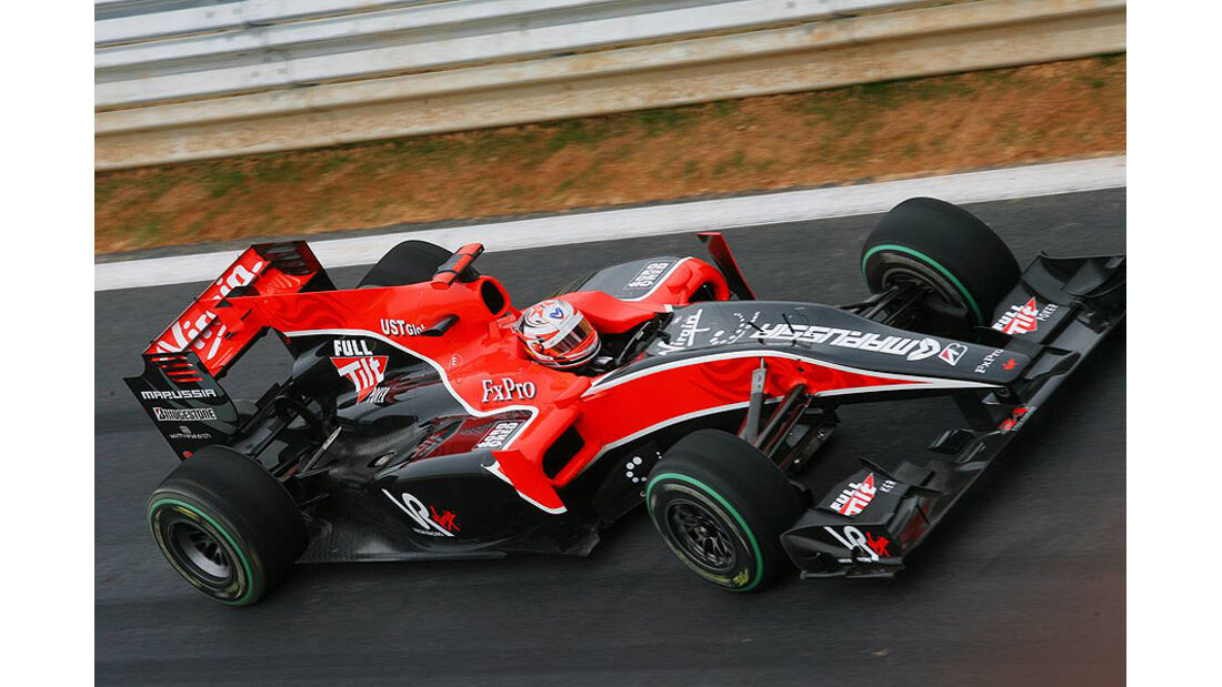 Formel 1 GP Korea 2010 Glock