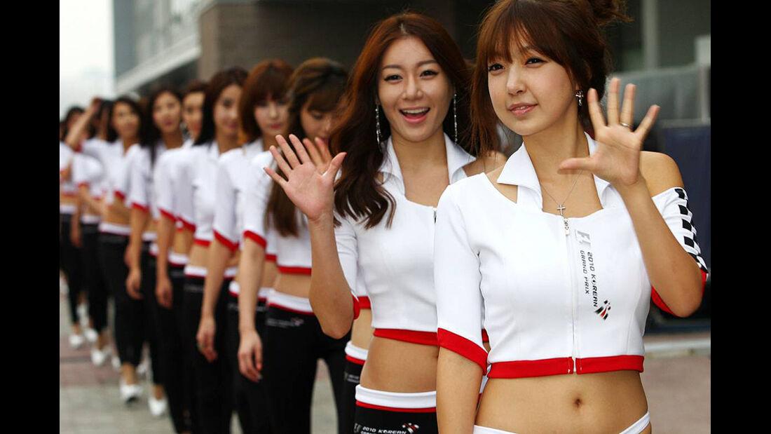 Formel 1 GP Korea 2010 Grid Girls