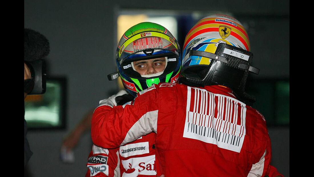 Formel 1 GP Korea 2010 Massa Alonso
