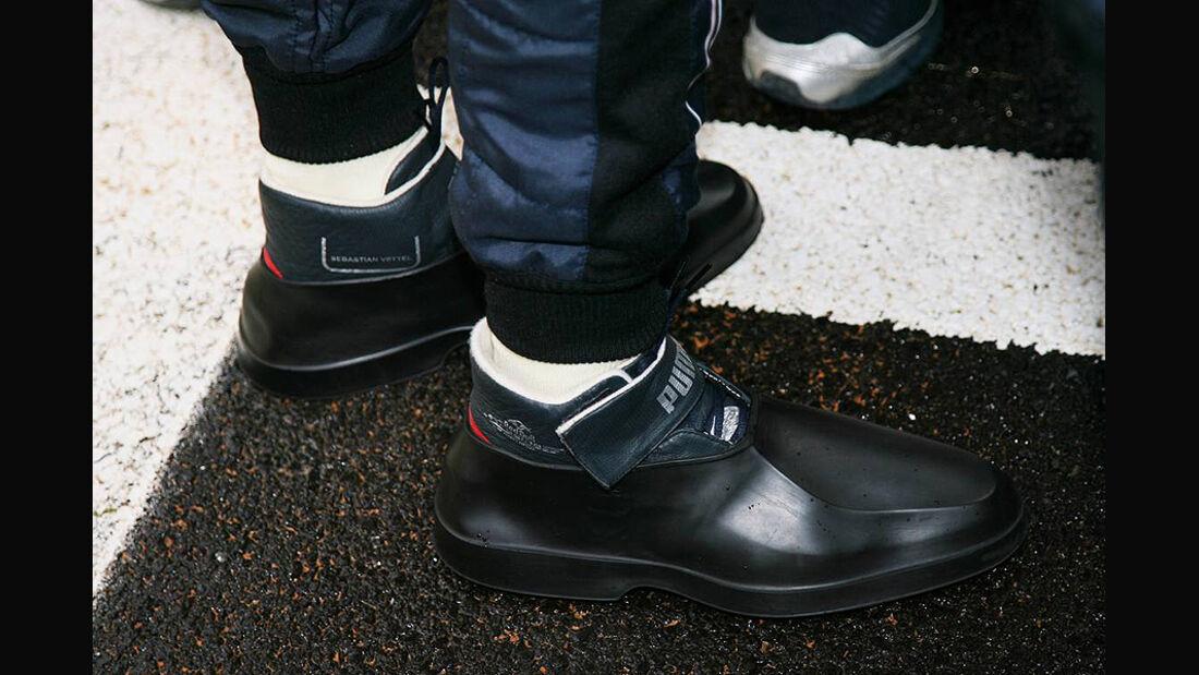 Formel 1 GP Korea 2010 Schuhe Vettel