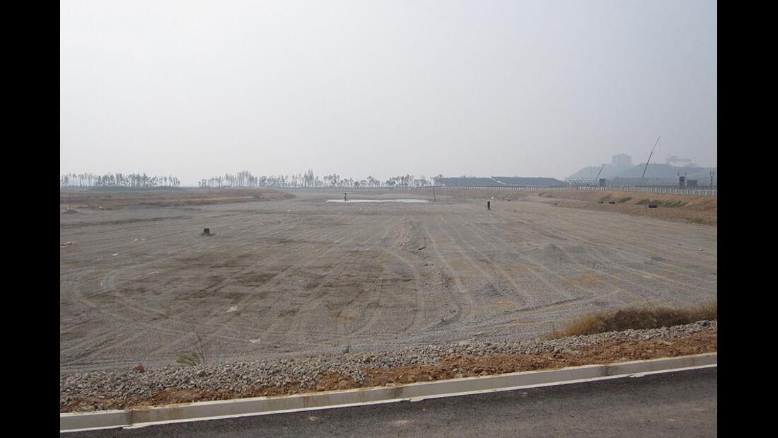 Formel 1 GP Korea 2010 Strecke