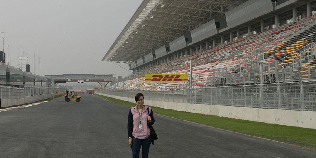Formel 1 GP Korea 2010 Strecke Bianca Leppert