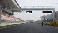 Formel 1 GP Korea 2010 Strecke Zielgerade
