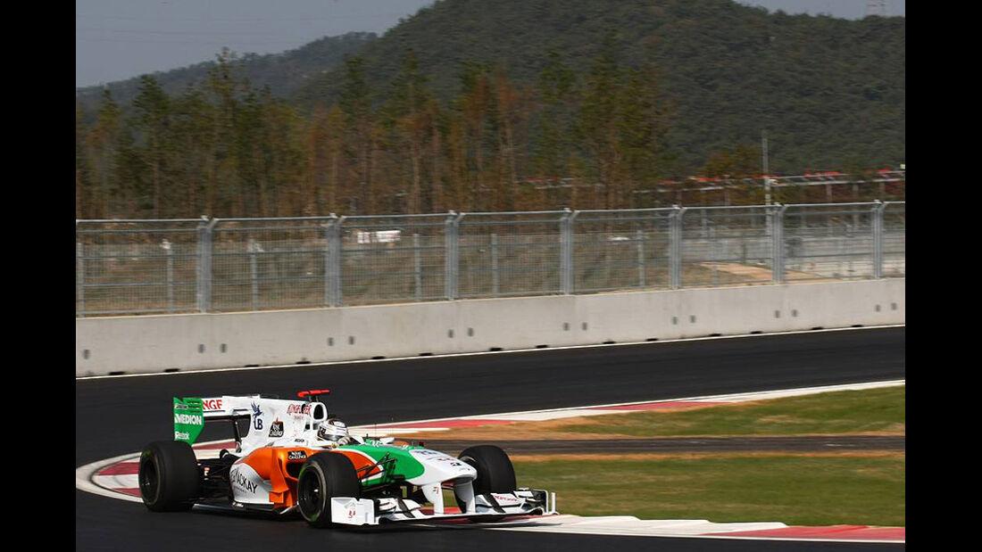 Formel 1 GP Korea 2010 Sutil