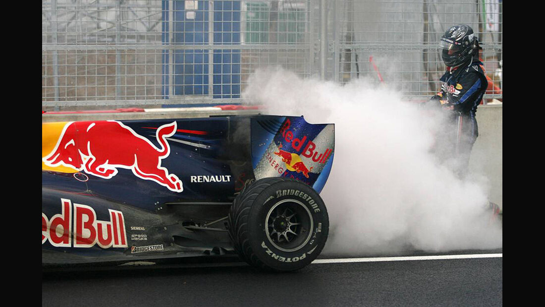 Formel 1 GP Korea 2010 Vettel Motorschaden