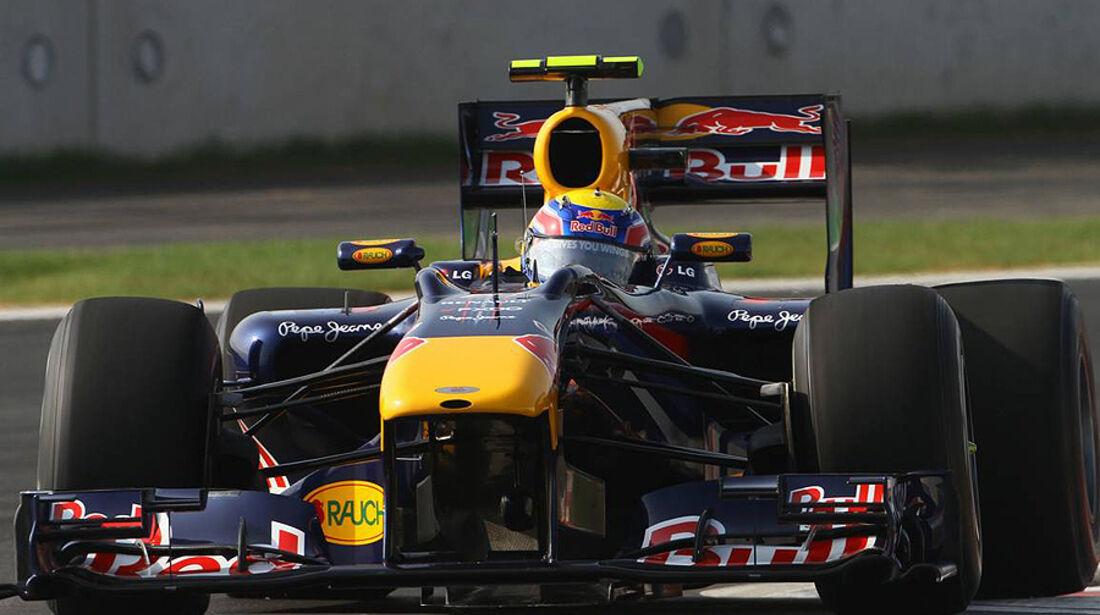 Formel 1 GP Korea 2010 Vettel