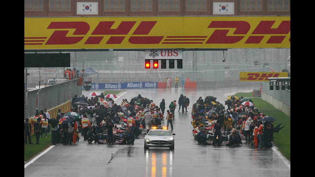 Formel 1 GP Korea 2010 Webber