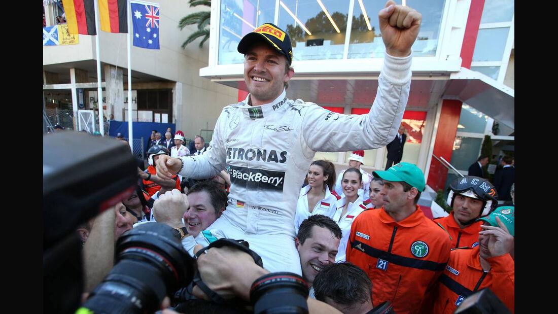 Formel 1 GP Monaco 2013 Nico Rosberg