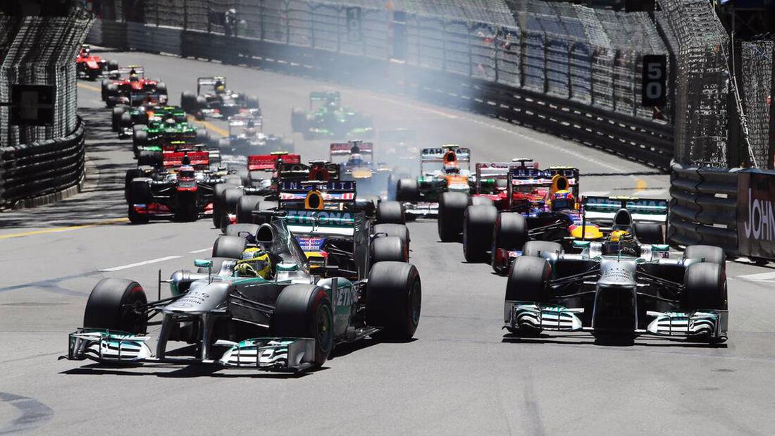 Formel 1 GP Monaco 2013 Start