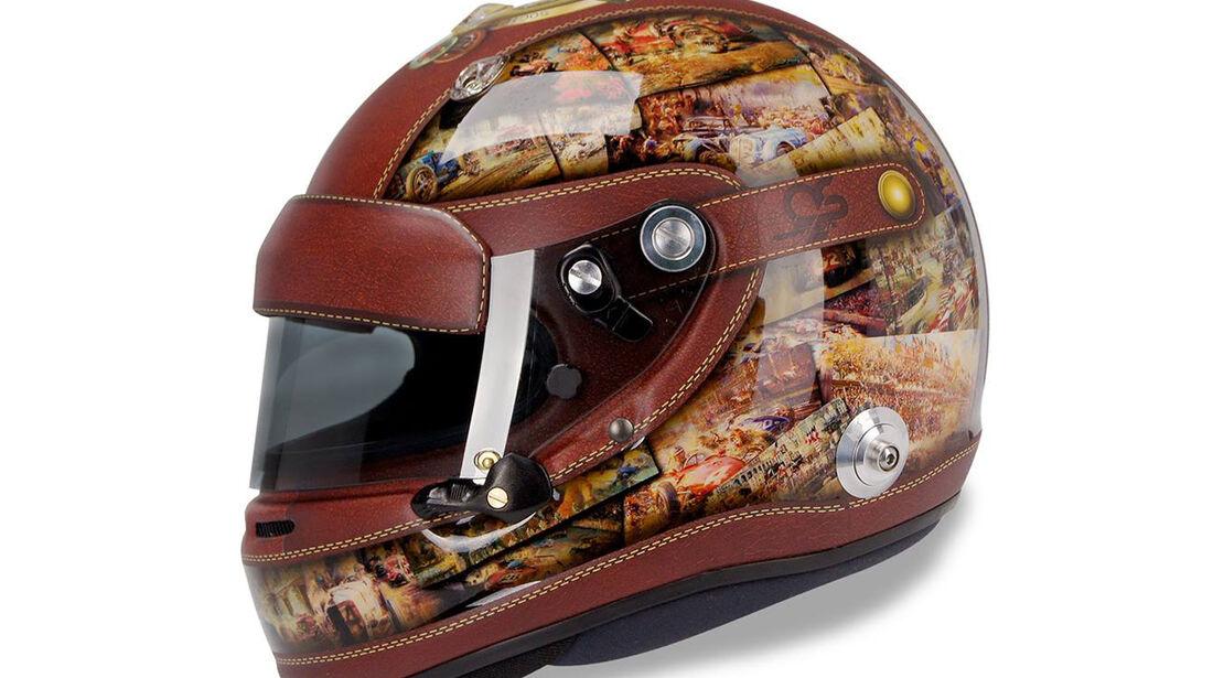 Formel 1 GP Monaco 2014 Helm Adrian Sutil