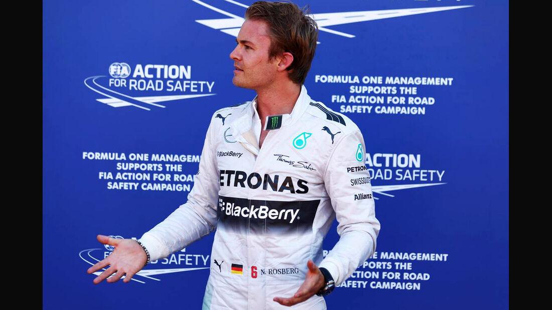 Formel 1 GP Monaco 2014 Nico Rosberg