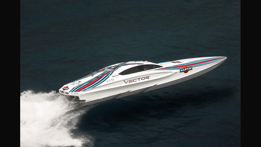 Formel 1 GP Monaco 2014 Yachten Martini
