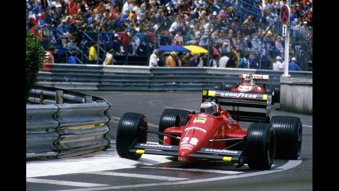 Formel 1 GP Monaco Gerhard Berger