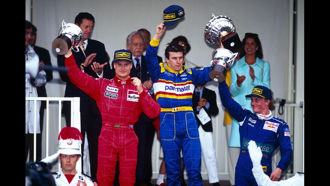 Formel 1 GP Monaco Olivier Panis David Coulthard Jonny Herberth